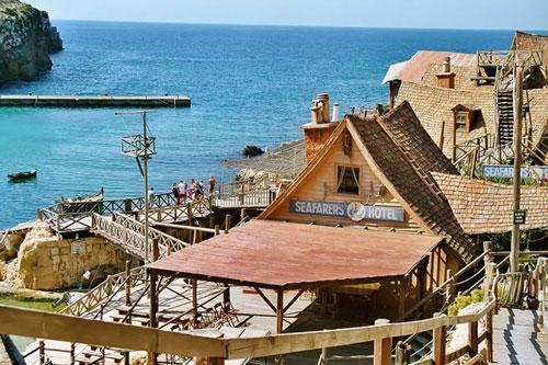 Ngôi làng thủy thủ Popeye ở Malta - 9