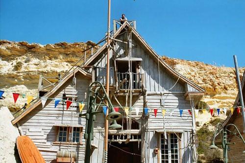 Ngôi làng thủy thủ Popeye ở Malta - 8