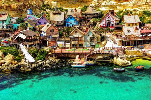Ngôi làng thủy thủ Popeye ở Malta - 1