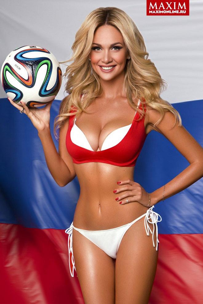Đại sứ World Cup 2018 của nước Nga gợi cảm nhất từ trước tới nay - 2