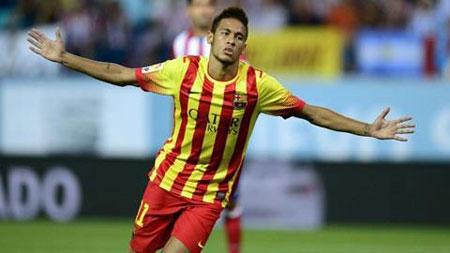 Atletico 1-1 Barca: Neymar cứu thua cho đội khách