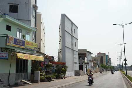 Cho phân lô xây nhà 25 m2: Băm nát bộ mặt đô thị