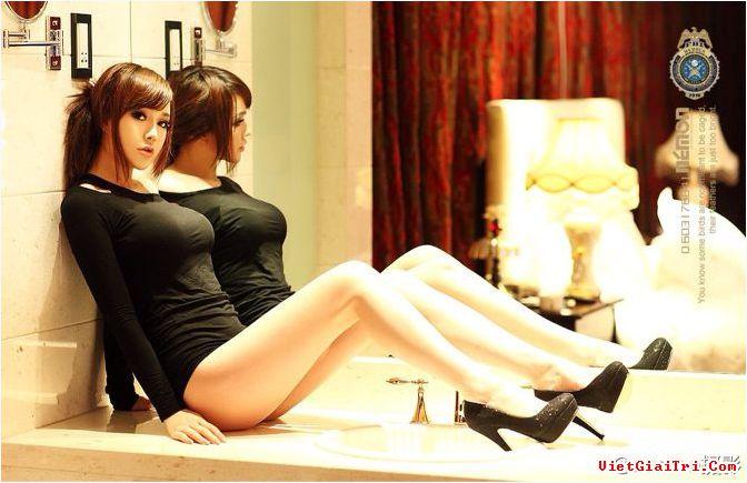 Cùng ngắm hiện tượng internet của Trung Quốc Han Zi Xuan nude gợi cảm