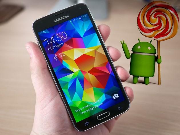 Danh sách các mẫu điện thoại Samsung được update Android 5.0