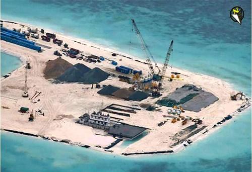 Đảo nhân tạo ở Biển Đông không giúp TQ chiếm được thượng phong