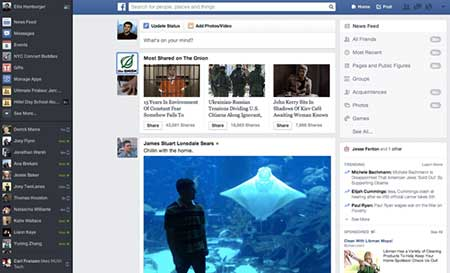 Facebook lại tiếp tục thay đổi giao diện... lần nữa