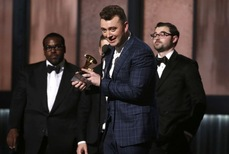 Grammy 2015: Sam Smith đại thắng, Taylor Swift trắng tay