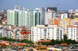 Giá chung cư Hà Nội lao dốc không phanh