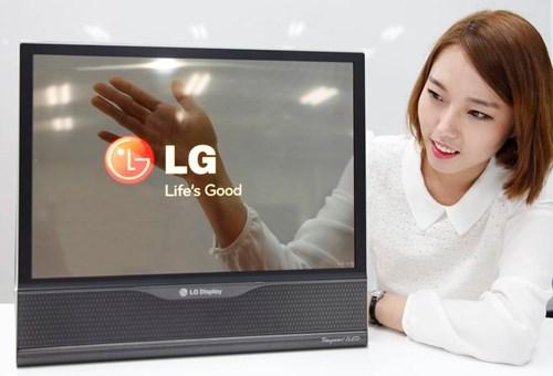 LG gây sốc với màn hình tivi cuộn như tờ báo