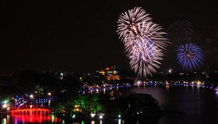Hà Nội: Bắn pháo hoa tại 30 địa điểm đêm Giao thừa
