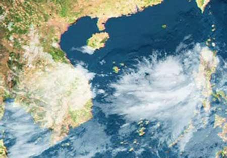 Có vùng áp thấp trên Biển Đông, Bắc Bộ vẫn mưa