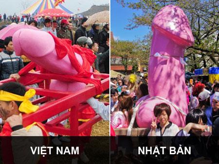 """Lễ hội rước """"của quý"""": Việt Nam không bắt chước Nhật Bản"""