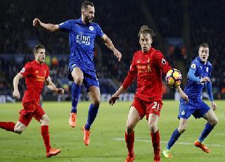 Leicester đánh bại Liverpool sau khi Ranieri ra đi