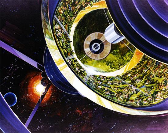 """Loài người sẽ """"chuyển nhà"""" lên không gian vào năm 2100"""