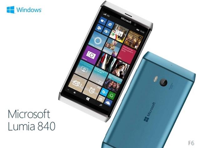 Thông tin về Lumia 840 – mẫu smartphone mới nhất của Microsoft