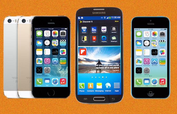 Những lý do đủ khiến Smartphone Android 'vùi dập' iPhone 5S