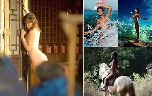 Mẫu nude Trung Quốc và nỗi cay đắng khi trút xiêm y
