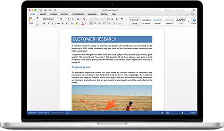 Microsoft phát hành Office 2016 miễn phí cho người dùng Mac