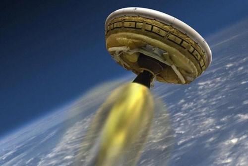 NASA thử nghiệm tàu vũ trụ giống UFO
