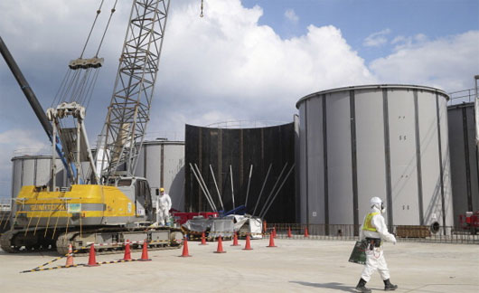 Nhật Bản xây bức tường băng ngầm để cách ly phóng xạ