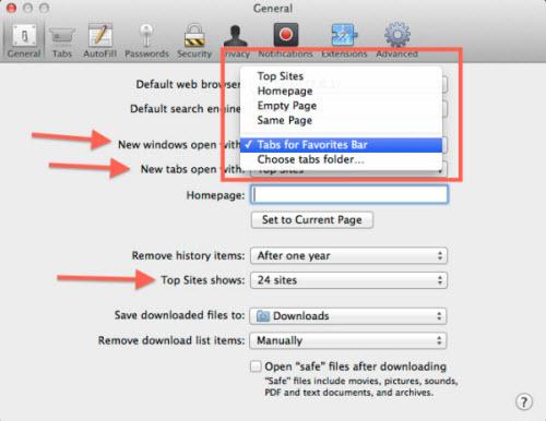 Những thiết lập cần biết trên Safari