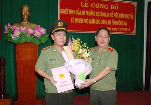Chân dung tân Phó Giám đốc công an tỉnh Đồng Nai 33 tuổi