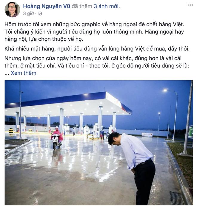 Dân mạng Việt nói gì về bức ảnh ông chủ người Nhật đội mưa cúi đầu chào khách - Ảnh 1.