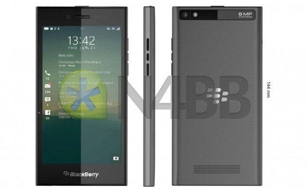 Rò rỉ hình ảnh về điện thoại thuần cảm ứng mới BlackBerry Z20