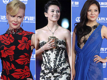 Sao Hollywood, Hoa ngữ hội tụ trên thảm đỏ
