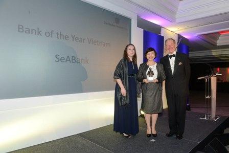 SeaBank là ngân hàng tốt nhất Việt Nam năm 2013
