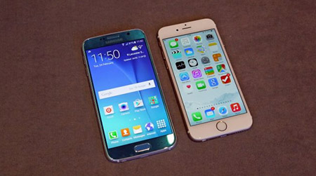 So sánh Samsung Galaxy S6 và Apple iPhone 6