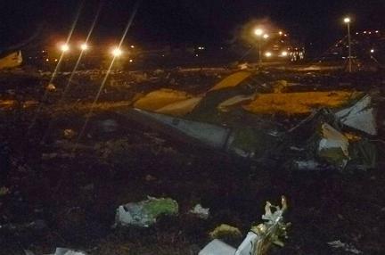 Tai nạn máy bay thảm khốc ở Nga