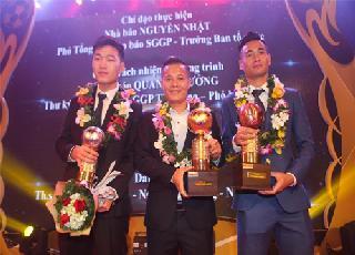 Thành Lương lập kỷ lục, lần thứ tư đoạt Quả Bóng Vàng Việt Nam