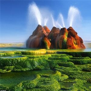 """Ngây ngất với """"tiên cảnh"""" giữa sa mạc"""