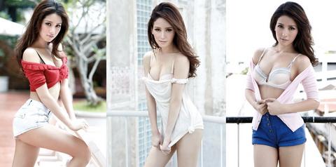 """Vẻ đẹp """"chết người"""" của siêu mẫu Thái Lan Amena Pinij"""