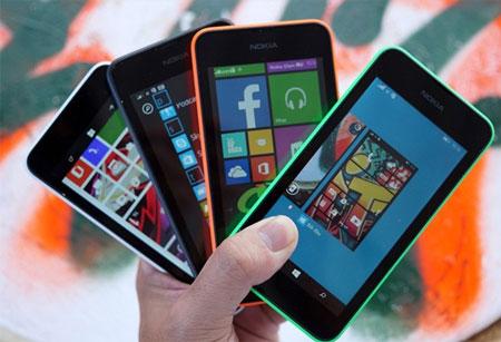 Lumia 530 vừa lên kệ đã giảm giá xuống dưới 2 triệu đồng